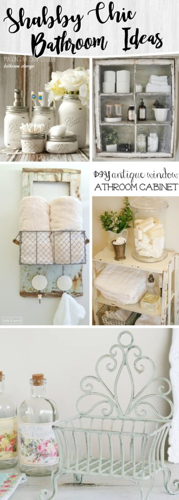 shabby chic bagno