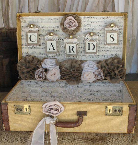 wedding cards valigia rose