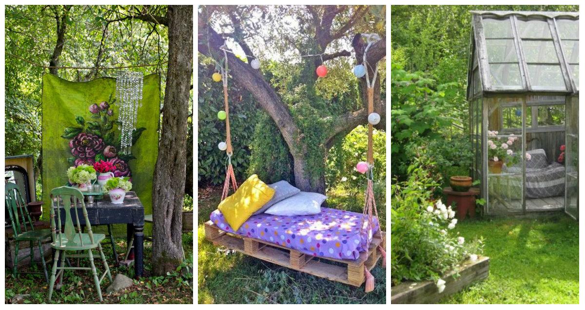 Ispirazioni per un giardino shabby chic arredamento - Giardino provenzale ...