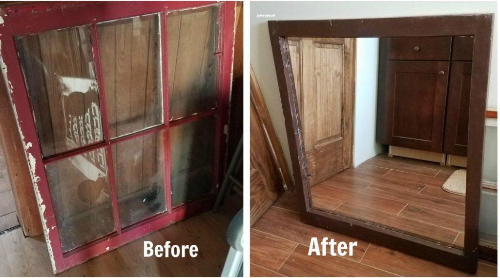 finestra specchio prima e dopo