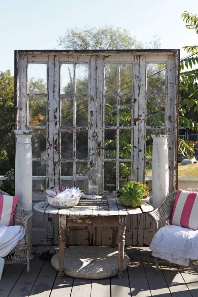 giardino vecchia porta