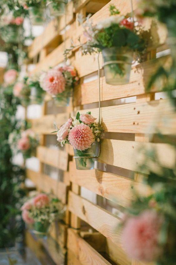 pallet fiori bicchierini