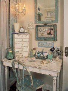 scrivania camera casa mare