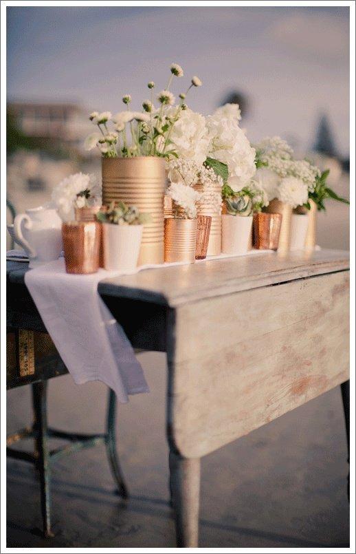 barattoli fiori