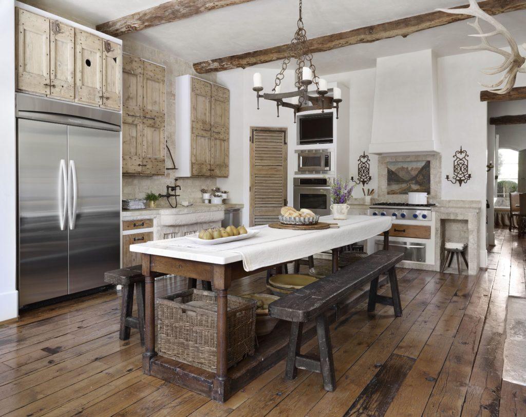 Il fascino della cucina country, ecco 7 idee romantiche ...