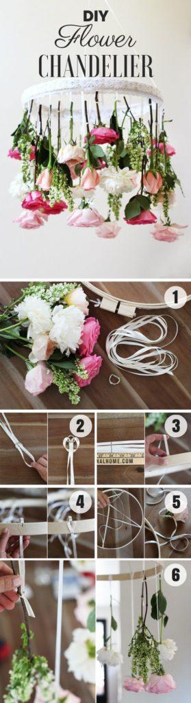 fiori sospesi matrimonio