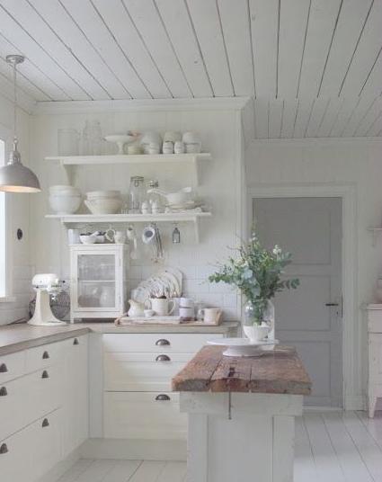 Matrimonio Country Chic Kitchen : Cucine shabby chic una carrellata di idee che vi