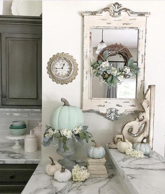 cucina specchio ghirlanda