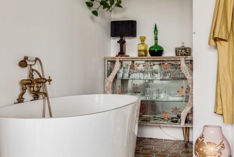 vasca rubinetti ottone