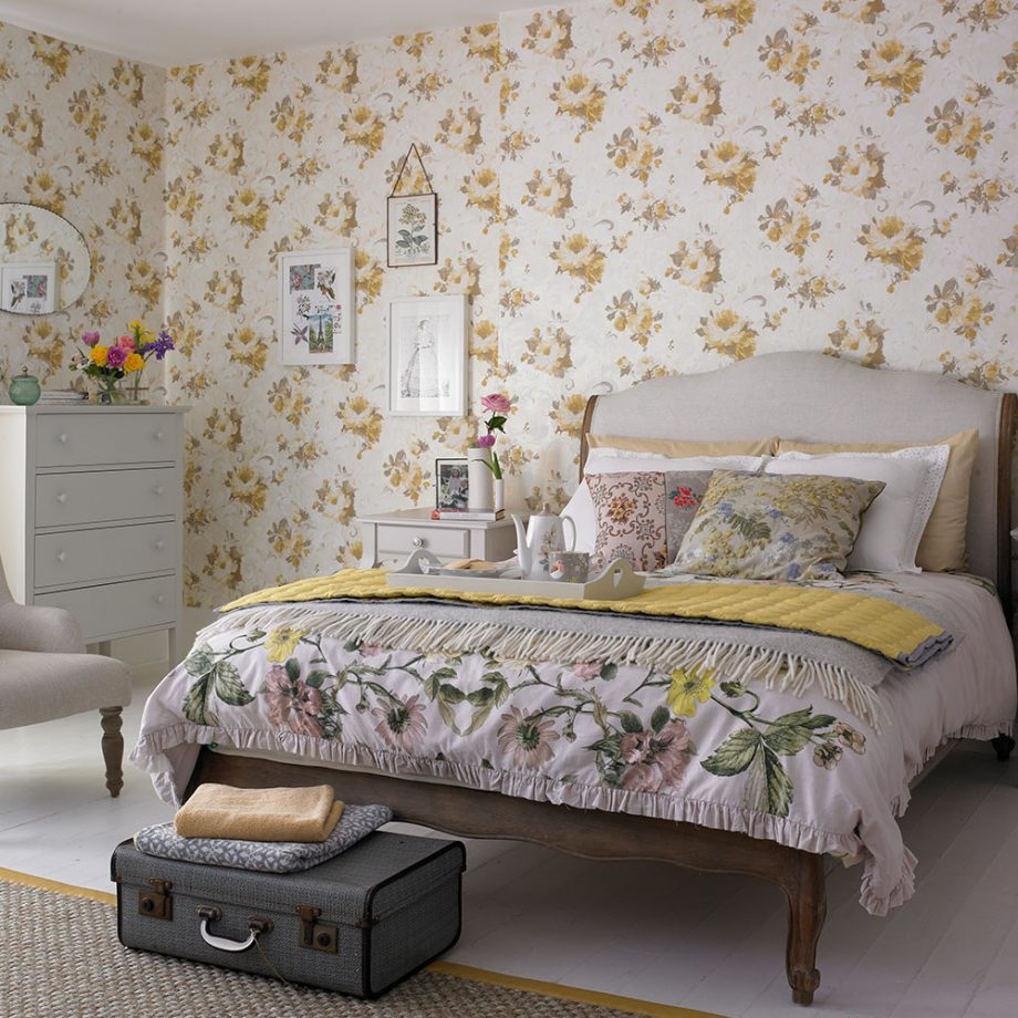 Camera da letto idee per un arredamento country - Camera letto country ...