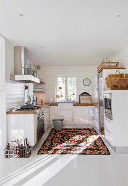 cucina tappeto