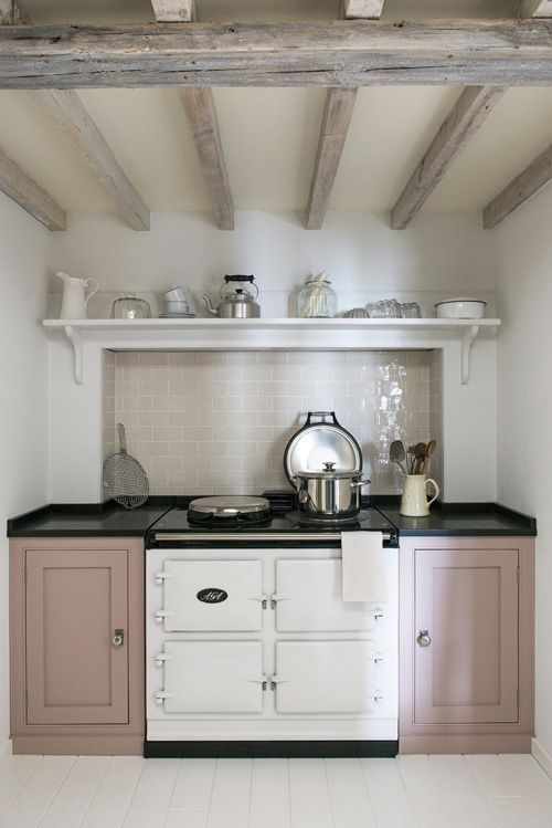 mobiletti cucina rosa