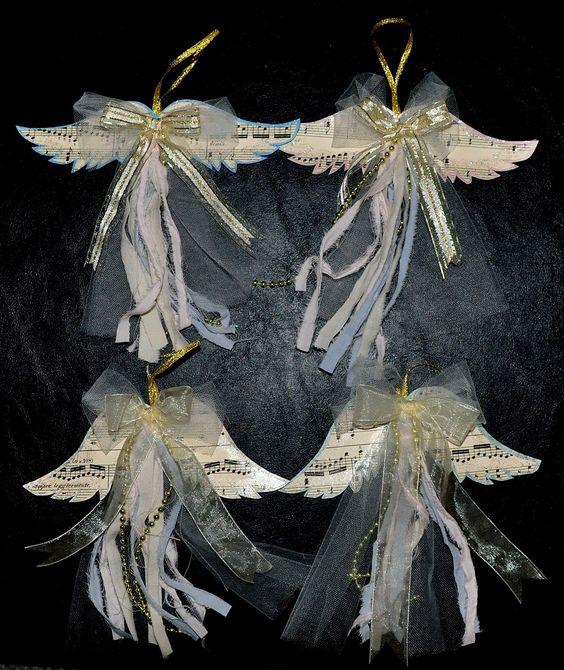 ali angelo albero di natale