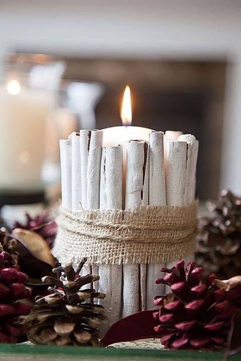 candela bastoncini cannella