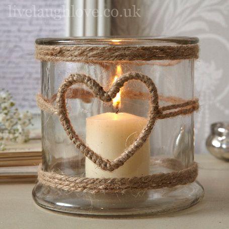 candele corda natale