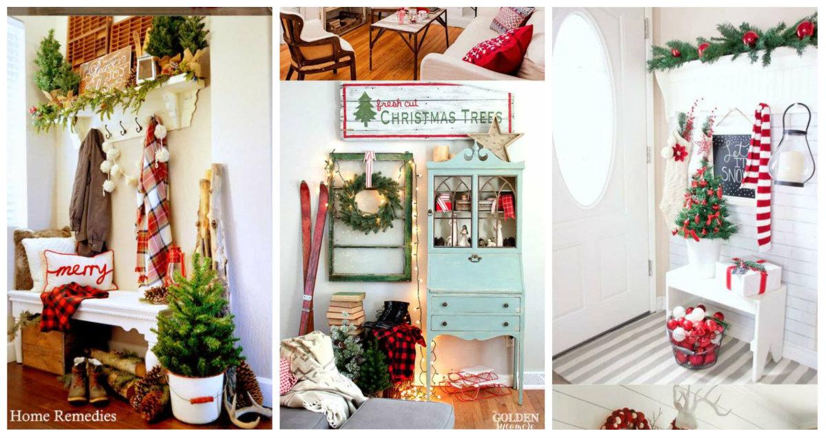Decorazioni natalizie per ogni stanza della casa for Decorazioni stanza