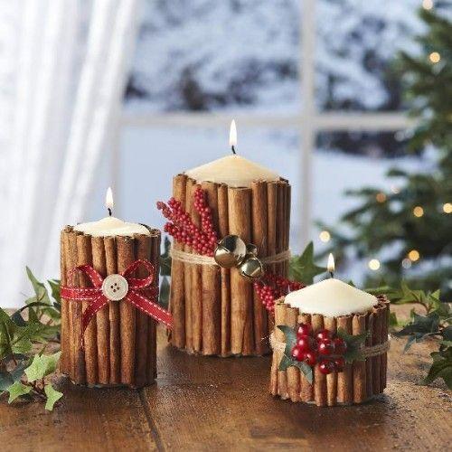 candele natalizie 2