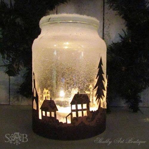 candele natalizie 4