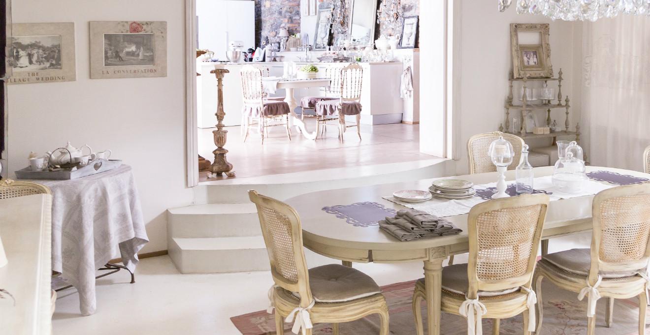 Dalani ora westwing ecco i 5 mobili shabby chic pi for Arredare la sala