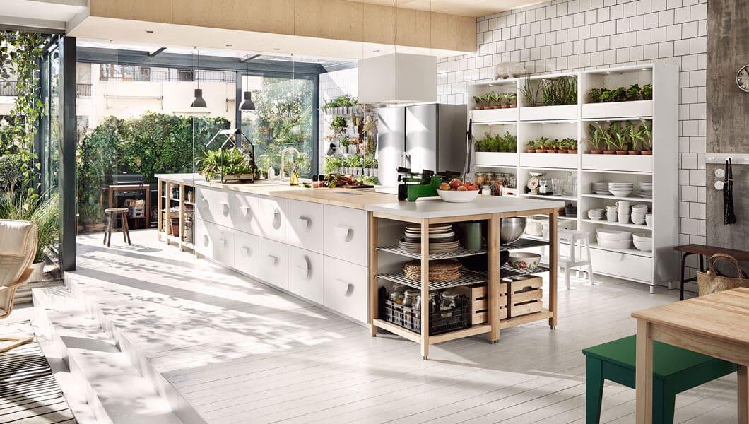 7 consigli per arredare la cucina in stile Country Chic da Ikea ...