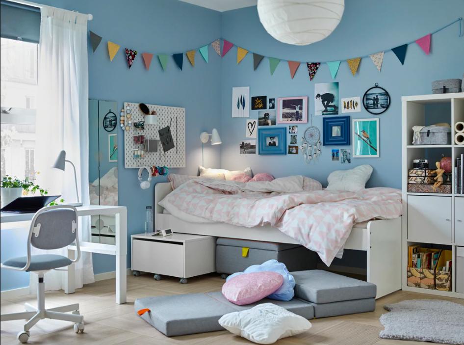 Cameretta Shabby Chic Ikea.11 Consigli Da Ikea Per Arredare La Cameretta Dei Bambini Nel 2020 Arredamento Provenzale